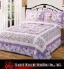 printed patchwork bedspread set