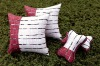 printed pure cotton fabric romantic and Streak room pillows