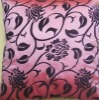 printed satin pillowcover