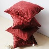 promotion jacquard velvet cushion cover