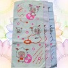 pure cotton cut pile printed children towel