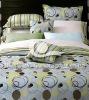 pure cotton fine printing four set bedding