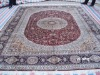 pure silk rugs from kashmir