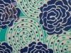 puree printed silk crepe  fabric