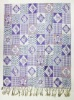purple classical style square pattern popular sales scarf