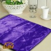 purple modern bright yarn surface PU linen back table placemat