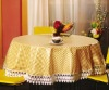 pvc printed tablecloth with non-woven fabric CE certificate
