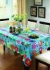 pvc table cloth, pvc tablecloth, plastic table cloth
