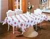 pvc table cover, vinyl tablecloths