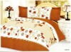 quilt cover and bed sheet