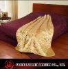 quilted and reversable satin throw/bedsrpead