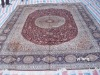 qum silk hand made rugs