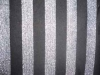 rayon stripe single jersey with metallic