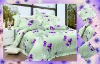 reactive printed bedding set linen