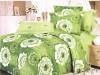 reactive printed delicate fragrance bedding set
