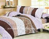 reactive printed quilt cover bed sheet