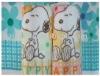 reactive printing animal batch towel