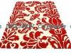 red patterned carpet