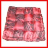 reversible rectangle satin stripe chair pads seat cushion