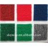ribbed surface exhibition carpet