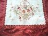 ribbon embroidery tablecloth