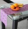 s7918 Jacquard design Ribbed table runner