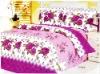 sanding fabric bedding set/bed sheet sets