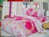 sanding fabric quilt cover set/bedsheet/pillowcase