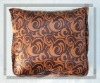 satin cushion/quilt with dual purpose