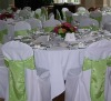 satin sash for chair cover and decorative chair sash