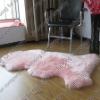 sheep fur rug