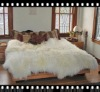 sheepskin bed carpet