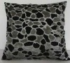 short plush,plastic pressed cushion 65513