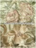 silk and cotton embroidered curtain fabric
