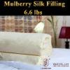 silk baby quilt