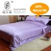 silk bedding purple
