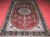 silk carpet,handmade persian silk carpet