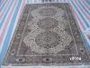 silk contemporary carpet