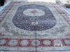 silk contemporary rugs