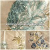 silk embroidered curtain fabric