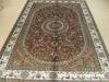 silk ghom carpet