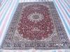 silk ghom carpets