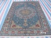 silk handmade carpets tabriz style