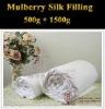 silk stuffing quilt