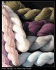 silky merino wool hank knitting yarn