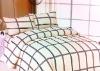 simple pattern bedding set