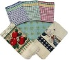 soft 100%cotton printed tea towel