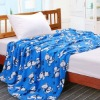 soft 100% polyester flower (cutting) blanket