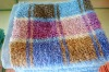 solid dyed colorfastness high-absorption terry bath towel