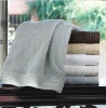 solide dobby cotton bath towel with border
